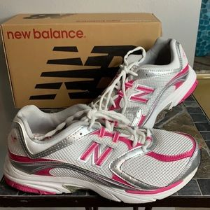 New Balance 760KM Sneakers Pink/Wh/Silver